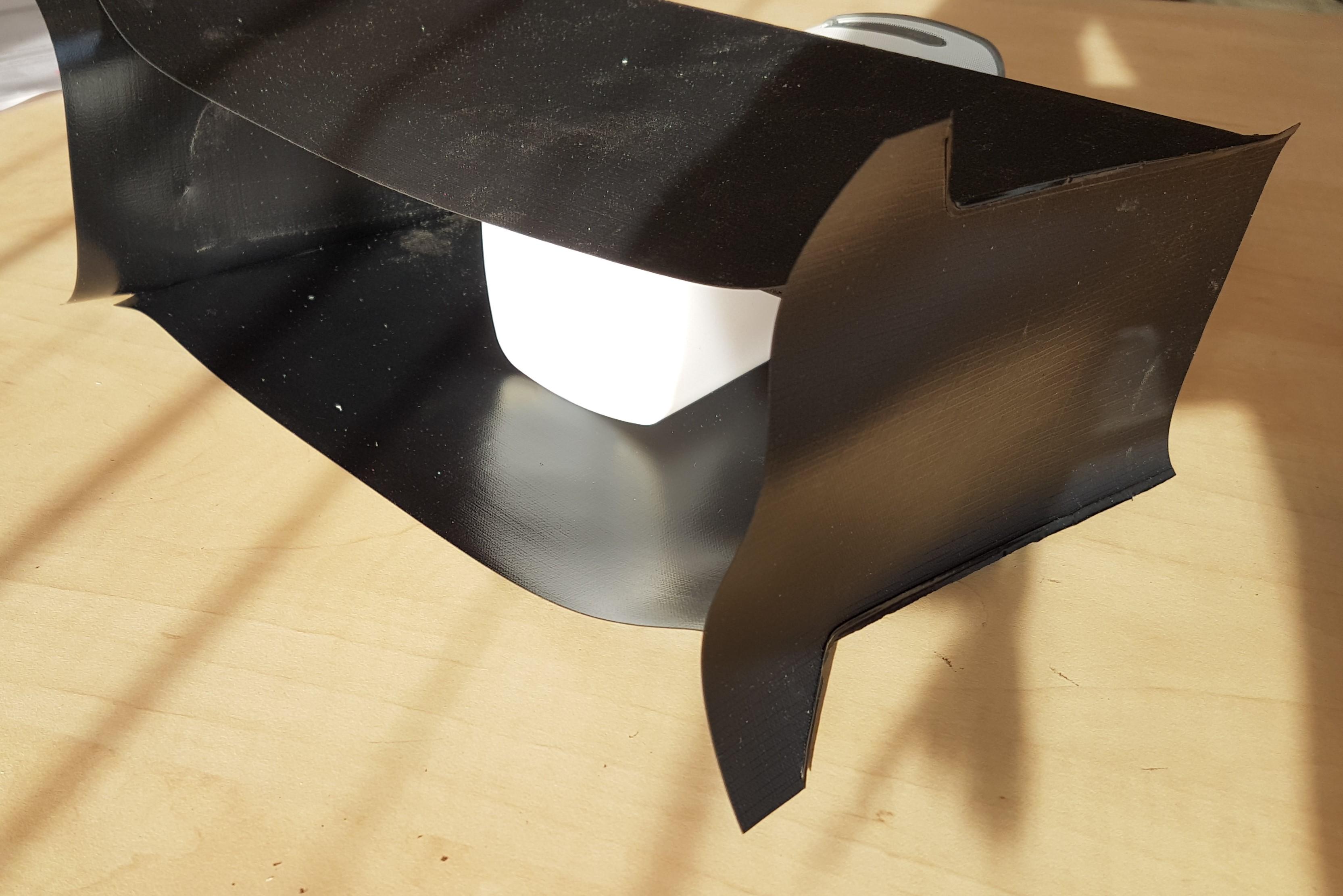 Manchette zwart
